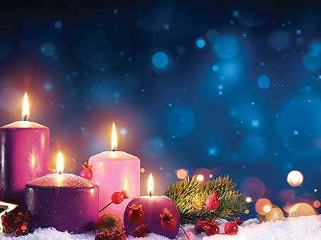 Advent Candle Wallpaper